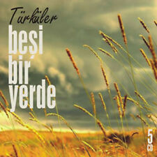 """ Beşi Bir Yerde 5 CD BOX SET "" 5 YORE 5 CD 55 TURKU TURK HALK MUZIGI CD"