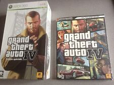 GTA IV (4) Edition Coffret Collector sur XBOX 360 + Guide = NEUF sous Blister