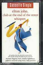 ELTON JOHN - CLUB AT THE END OF THE STREET / WHISPERS 1990 CASSINGLE
