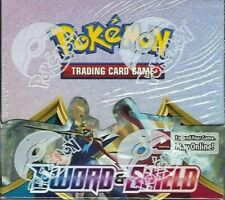 POKEMON TCG SWORD & SHIELD SWSH1 BASE SET BOOSTER SEALED BOX LIVE