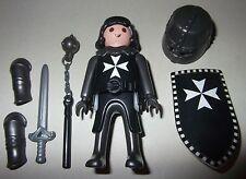 16485, Ritter, Malteser, Kreuzritter, mit Helm, Morgenstern, Schwert und Schild