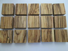 Bethlehem Olive wood ring blanks / Pieces jewelry making 40mm X 40mm X 15mm