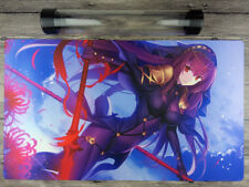 Yu-Gi-Oh! Fate/GrandOrder Scathach Playmat Trading Card Game Mat Free best Tube