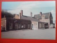 PHOTO  BARNSTAPLE JUNCTION RAILWAY STATION 1985 EXTERIOR VIEW