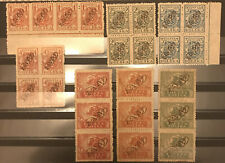 More details for poland 1921 levant fischer 26x-32x uncirculated stamps og