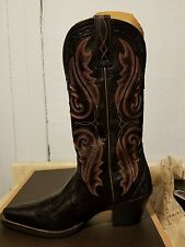 Ariat Western Womens Boots Heritage Western X Toe Old Black 10017322 10 b