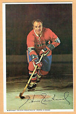 1969-71 Canadiens (Pro Star Promotions) Team Issued Postcard, Henri Richard, Grn