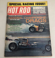 Hot Rod Magazine November 1963 Special Racing Issue, National Championship Drag