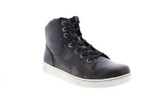 Harley-Davidson Bateman D93655 Mens Brown Lifestyle Sneakers Shoes