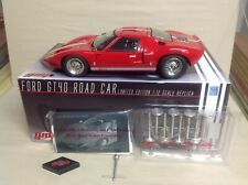GT40 RED 1966 ROAD CAR FORD #G1201319 GMP 1:12 1968 FORD 200Pcs FREE DETAIL KIT