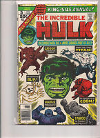 Incredible Hulk Annual #5 First Printing Comic Book. Groot!