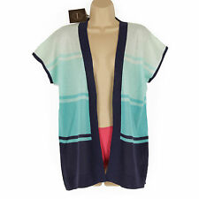 Cotton Blend Stretch Casual Striped Tops & Shirts for Women