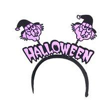 Halloween Party Fancy Dress Head Bopper - Witch