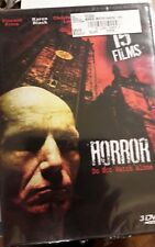 Horror 15 Film Collection (DVD, 2009, 3-Disc Set) Brand New shrink wrap worn