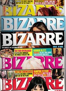 Various Issues of BIZARRE Magazine from May 2006 to November 2013