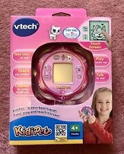 V Tech Kidipet CAT Interactive Game Toy Kids VINTAGE TOY Boxed & Instructions