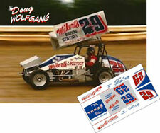 CD_DSC_005 #29 Doug Wolfgang Weikerts Livestock Sprint Car   1:32 Decals   ~NEW~