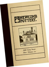 Newcomb Pottery 1906 CATALOGUE Ceramic + Stained Glass Lamps mugs vases Samples