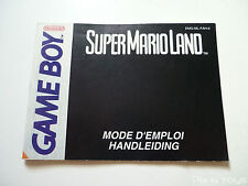 NINTENDO GAME BOY / Notice Handleiding / Super Mario Land [ DMG-ML-FAH-9 ]