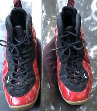 Nike Air Foamposite One Bred Foam Size 12 Basketball Penny Red Black