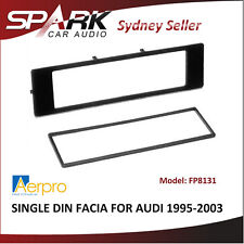 ADO Single Din Facia Fascia Dash Plate Panel for AUDI A4 A6 A8 1995-2003 FP8131
