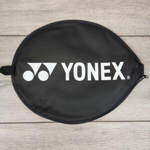 Yonex Badminton Head Cover Black Case Zip PU leather 23cm x 29cm T351-1