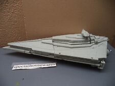"""Star Wars Plastic Imperial Destroyer 15"""" x 8""""x 4"""" Opening Compartments VGC"""