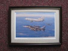 Ronald Wong Aircraft print 'Deny Flight Patrol' FRAMED