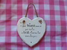 Heart Best Friend Unbranded Decorative Plaques & Signs