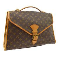 LOUIS VUITTON BEVERLY PM 2WAY BUSINESS HAND BAG MONOGRAM M51121 SL1901 A41670j