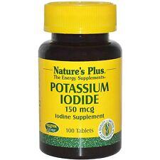 Potassium Iodide, 150 mcg, 100 Tablets - Nature's Plus