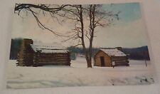 RPPC Post Card Continental Army Huts Valley Forage Pennsylvania