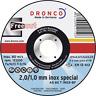 DRONCO 115 125 x 2/1 150 180 230 x22,23 mm Freecut Inox special Trennscheiben