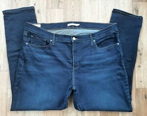 Ladies Levis 311 Shaping Skinny Jeans size 20 W Waist 38 leg 30 Levi blue