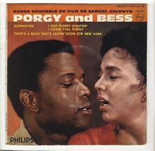 EP BOF Porgy and Bess Dorothy Dandrige Sidney Poitier Gershwin Samuel Goldwyn
