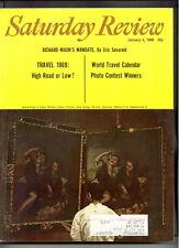 SATURDAY REVIEW magazine J4 1969 SUPERJETS-Lady Bird Johnson-RICHARD NIXON