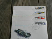 Four Russian Auto Racing Covers #4853-4856
