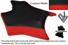 BLACK & RED CUSTOM FITS DERBI GPR 50 125 UNDERSEAT EXHAUST 07-13  FRONT COVER