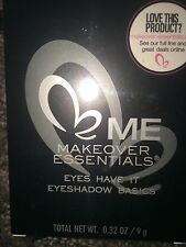 Me Makeover Essentials: Eyeshadow Basics.