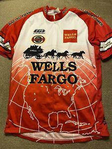 Men's Cycling Bike Jersey Louis Garneau Wells Fargo XL