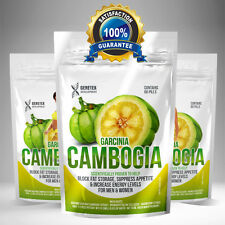 60 x GARCINIA CAMBOGIA PURE 6000mg Daily Detox Weight Loss Diet Slimming Pills
