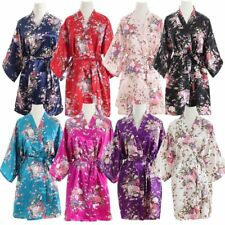 2017 lady cherry blossom flower robe dress bride wedding bride bridesmaid suits