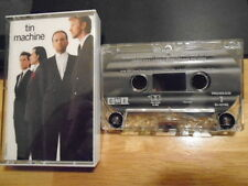 RARE OOP Tin Machine CASSETTE TAPE 1989 DAVID BOWIE rip Reeves Gabrels THE CURE