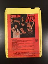 Queen Sheer Heart Attack Rare CANADA 8 Track. Yellow! Tested!