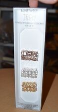 NINE WEST TECH Jewelry Fitness Tracker Accessories Set of 3 Fitbit Bling NEW