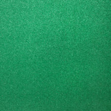 """5pk 12"""" Green Glittery Card. Sparkly Christmas Craft Paper Glitter Card Project"""