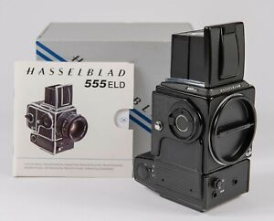 Hasselblad 555ELD Black Camera Body w/Orig Box and Paperwork - Excellent!
