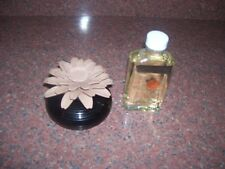 PARTYLITE DIFUSER FLOWER WITH GINGER PUMPKIN OIL BEIGE