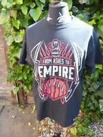"""Official WWE - Roman Reigns """"From Ashes to Empire"""" Authentic T-Shirt SIZE L"""