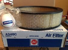 ACDELCO AIR FILTER A348C & ACDELCO BASEBALL